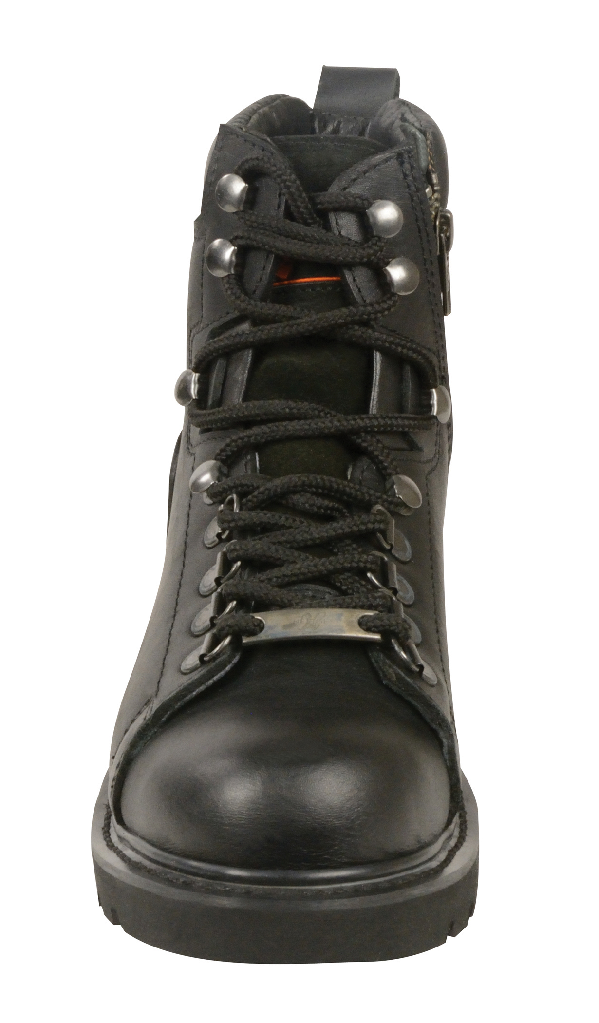 Full Face Cruiser Helmets >> Women's Biker Boots Real Leather Lace to Toe