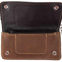 motorcycle chain wallets leather