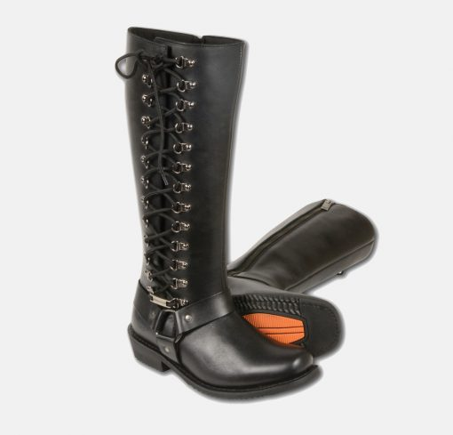 tall motorcycle boots womens