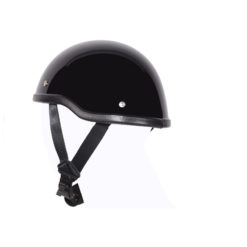 unique motorcycle helmets black