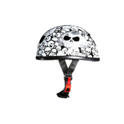 white novelty helmet Skull