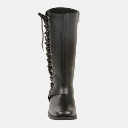 womens knee high flat boots