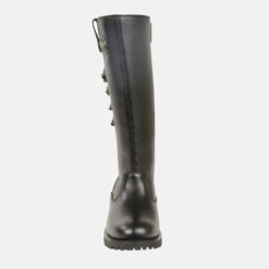 womens knee high leather motorcycle boots