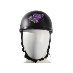 womens motorcycle half helmets