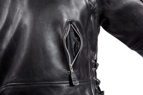 landing leathers men's cowhide leather bomber jackets