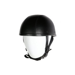 leather Covered helmets