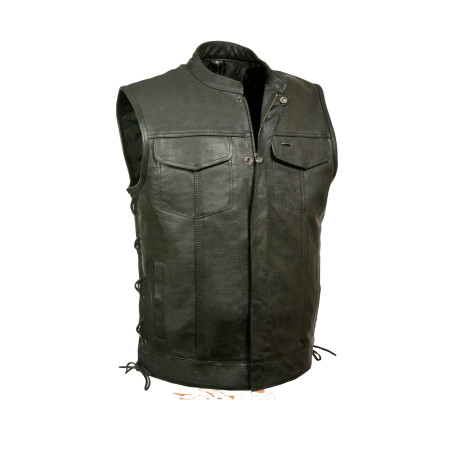 Mens Club Leather Jacket