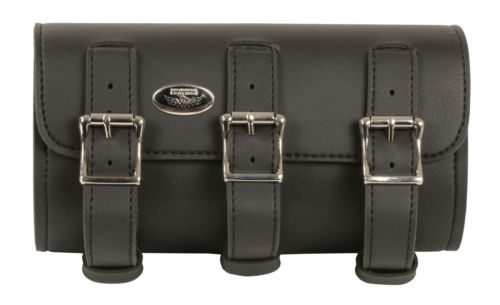 Motorcycle leather tool rolls Straps