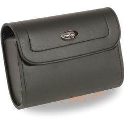 Soft leather tool bag motorcycle