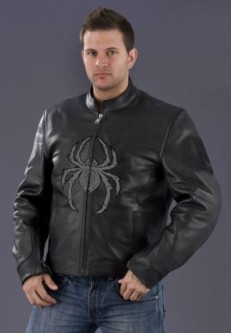 Spider leather jacket