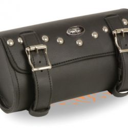 Studded Biker tool bag Leather