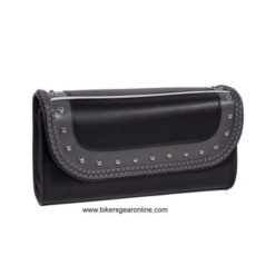 studded motorcycle tool bag