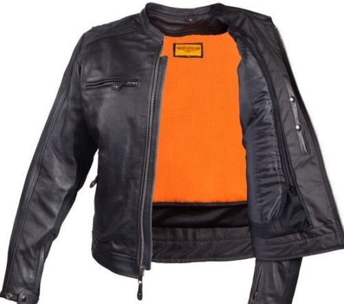 Black Leather Jackets for Motorcycle Riders for Mens