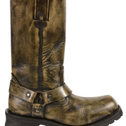 brown leather motorcycle boots mens