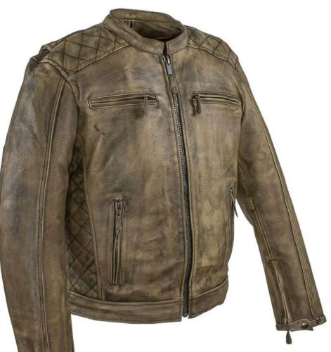 Best Leather Jackets Distressed Brown