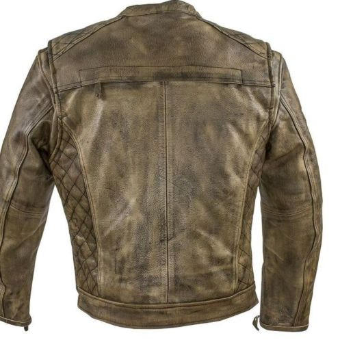 distressed leather bomber jackets