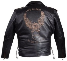 Live to Ride black jackets