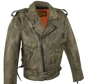 Mens Rider brown jackets Leather