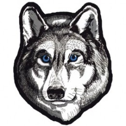 Wolf Patches for Vests
