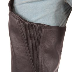 Mens Brown Leather Pants for Bike Rider