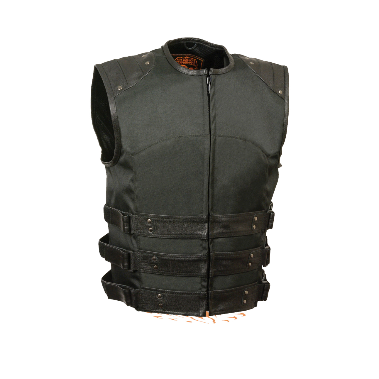 Military style motorcycle jacket