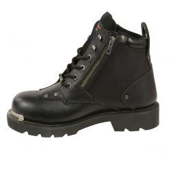 Mens lace to toe work boots