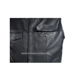 pure leather mens motorcycle jacket