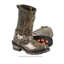 womens brown motorcycle boots