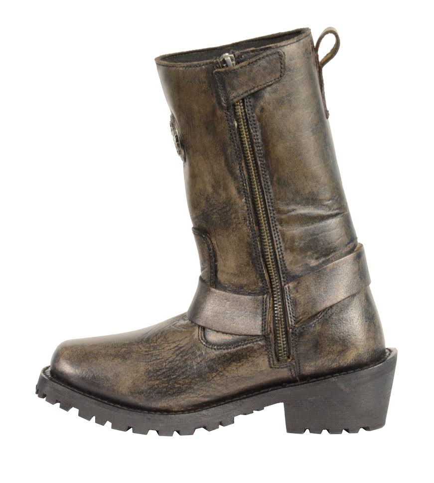 New 25 Amazing Brown Motorcycle Boots Women | Sobatapk.com