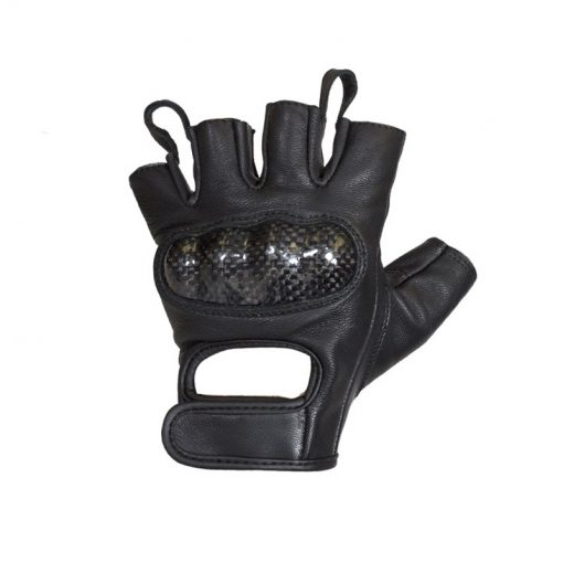 mens-leather-motorcycle-fingerless-riding-gloves