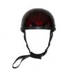 Shiny Burgundy Motorcycle Novelty Helmet