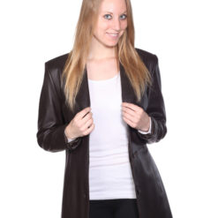 NUBORN LEATHER KATIE LEATHER WALKING COAT