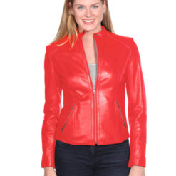 NUBORN LEATHER MIKA LEATHER JACKET
