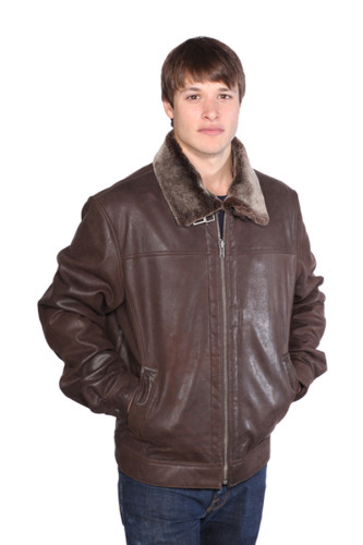 Wilda Clay Leather Jacket