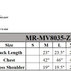 MR MV8035 ZIP 11 5 SIZECHART gvbV24RolSrC4Kjs