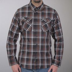 Black And White Long Sleeve Flannel